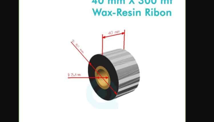 40_mm_x_300_m_wax_resin_ribon_fx_(Flex)